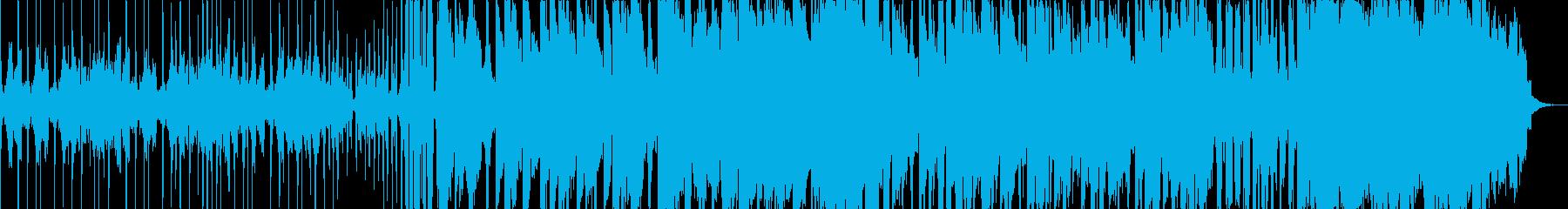 高級時計のようなストリングスメインの曲の再生済みの波形