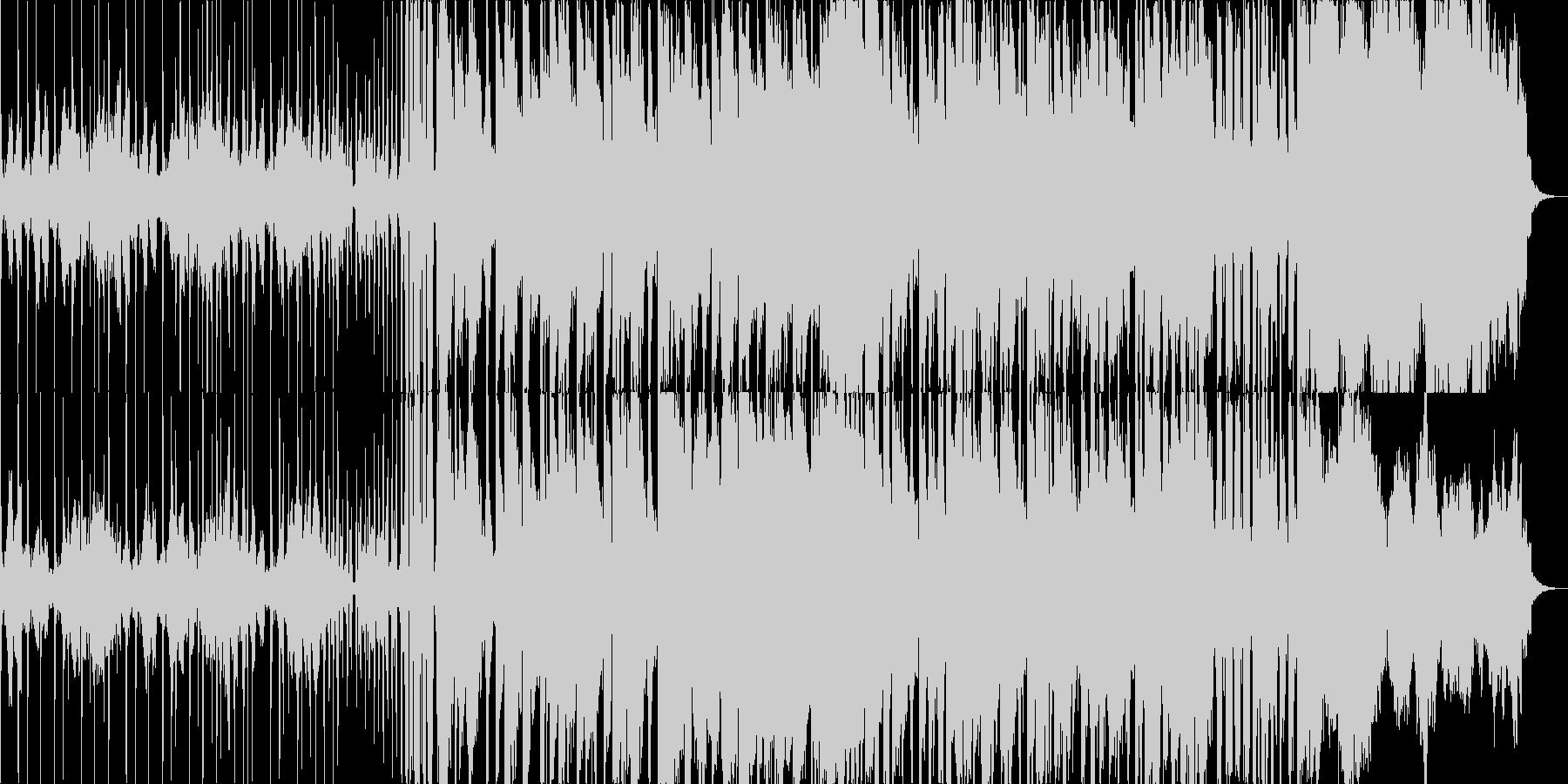 高級時計のようなストリングスメインの曲の未再生の波形