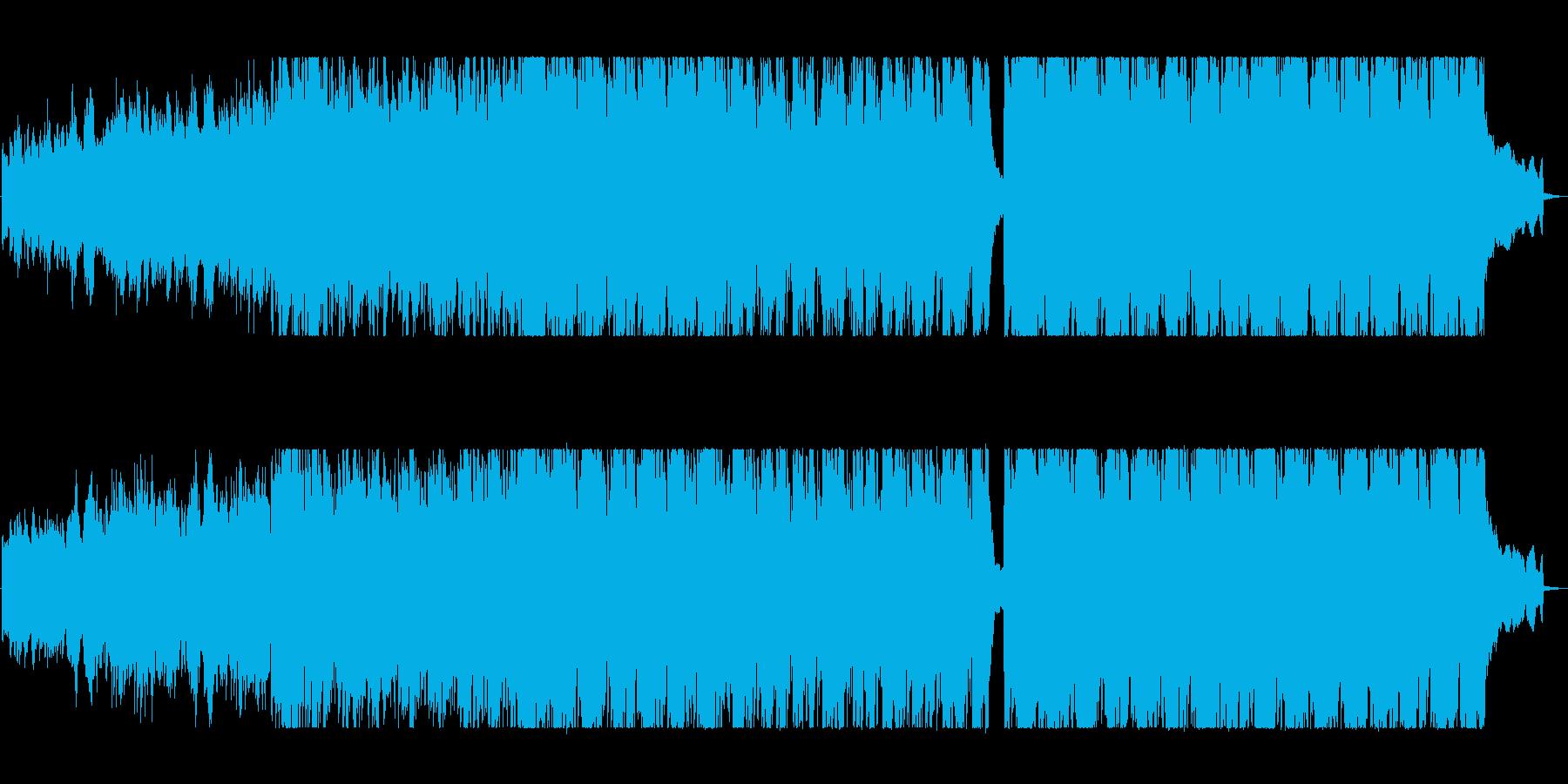 映画に合うかっこいいピアノBGMの再生済みの波形