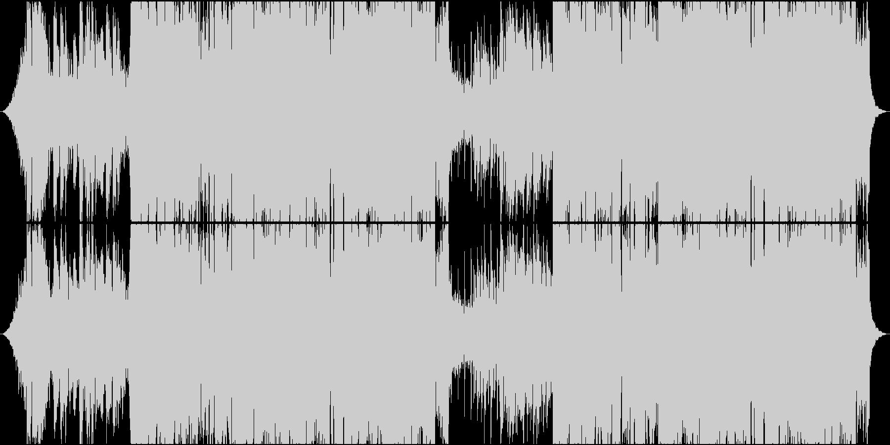 ピアノが心地いい海外風HOUSEの未再生の波形