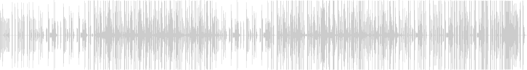 インド×ヒップホップの未再生の波形