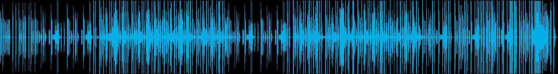 インド×ヒップホップの再生済みの波形