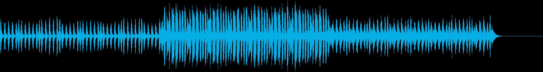 推理ドラマで手掛かりを掴んだ時のような曲の再生済みの波形