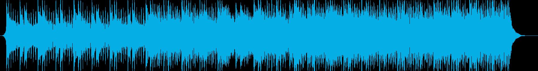 感動的なアンビエントハウスミュージックの再生済みの波形