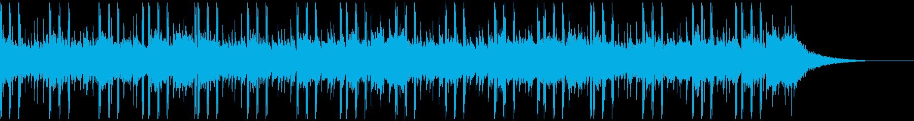 インスピレーション技術(ショート1)の再生済みの波形
