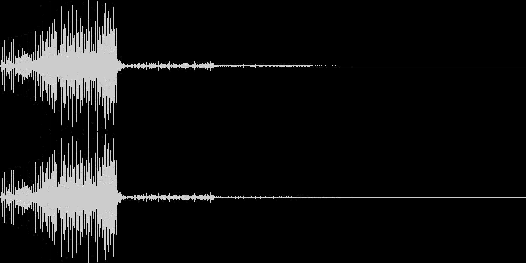 「システム効果音、特殊効果音15_1(…の未再生の波形