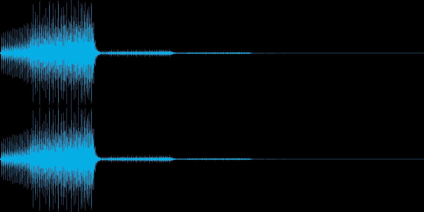 「システム効果音、特殊効果音15_1(…の再生済みの波形