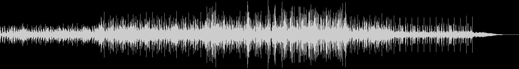 ダークなエレクトロニカ曲の未再生の波形