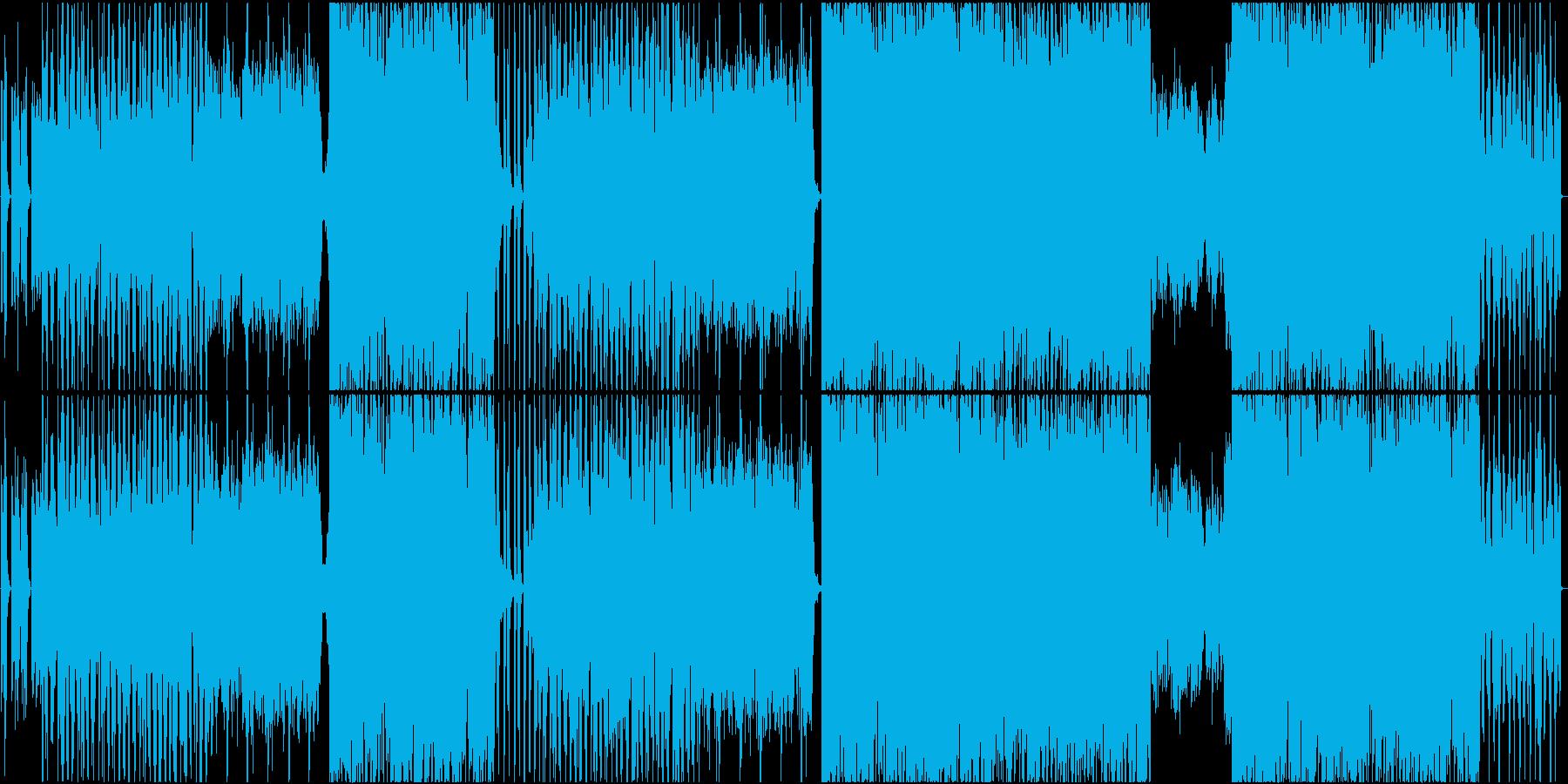 実話系RnBバラッド。の再生済みの波形