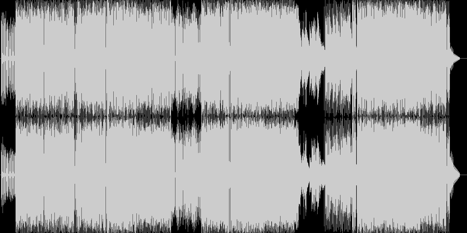 シャイ・ルック・ホームズの未再生の波形