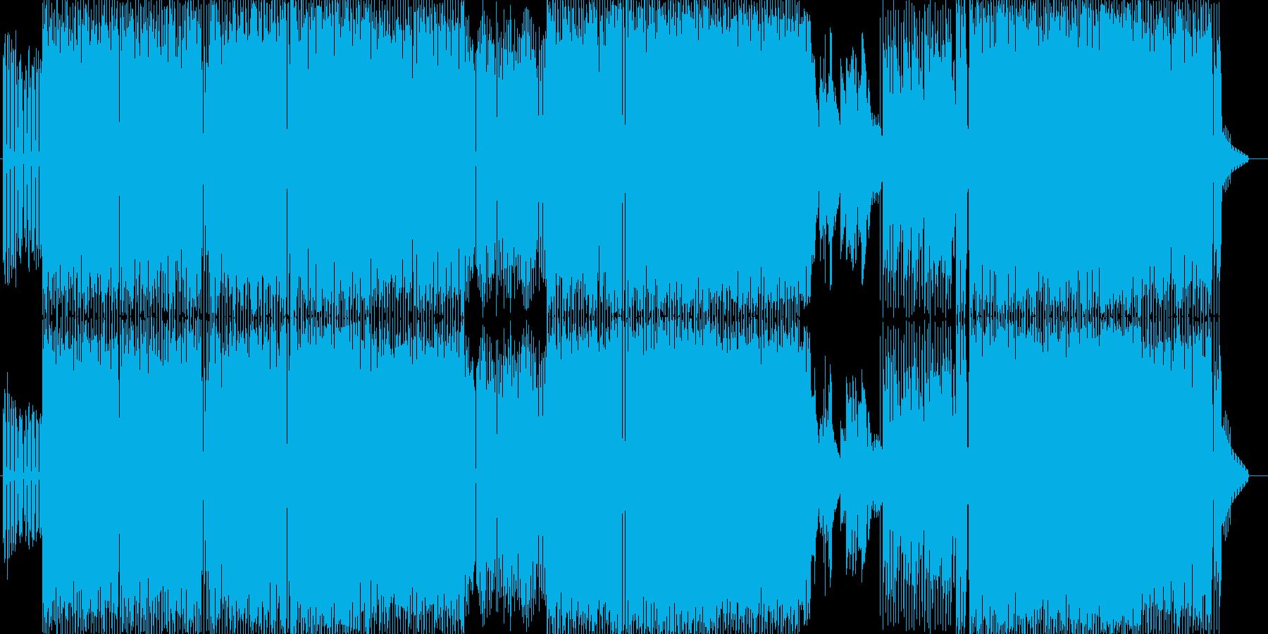 シャイ・ルック・ホームズの再生済みの波形
