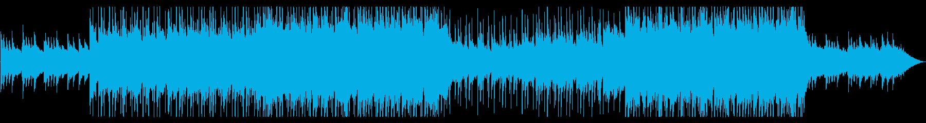 疾走感と哀愁あるメロのピアノポップの再生済みの波形