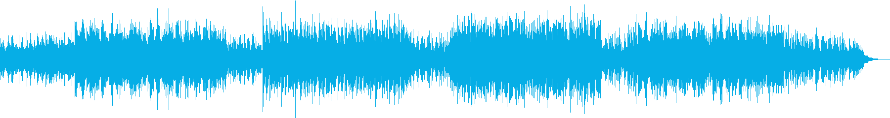 ピアノがメインでビート感のあるサウンドの再生済みの波形