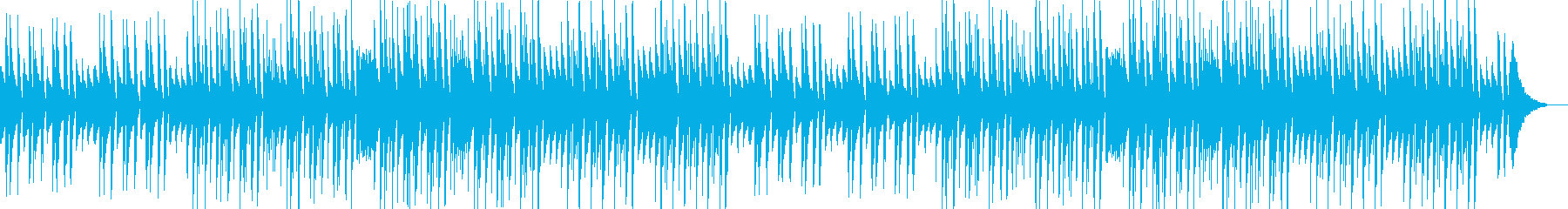 日常、トーク、ほのぼのピアノポップの再生済みの波形