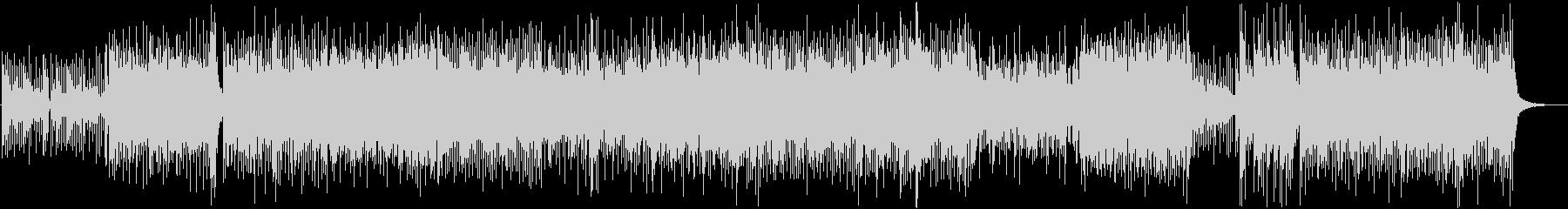 和風、三味線メタル2、激しい(声なし)aの未再生の波形