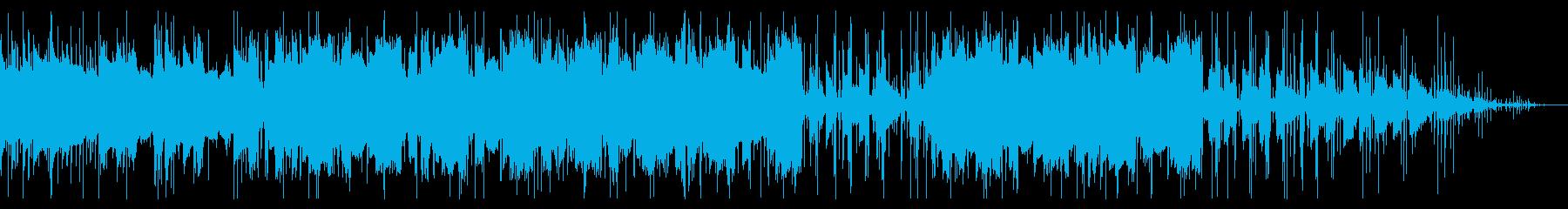 幻想的で穏やかなチル・ヒップホップの再生済みの波形