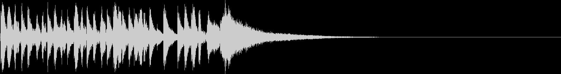 生ドラムロール ジングル 場面転換♪02の未再生の波形
