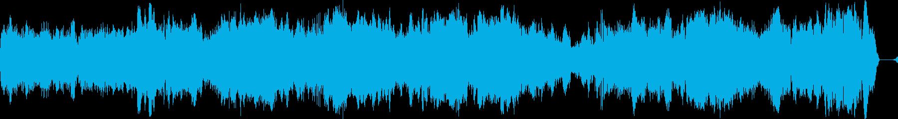 スノーモービルレースアラウンド、マ...の再生済みの波形