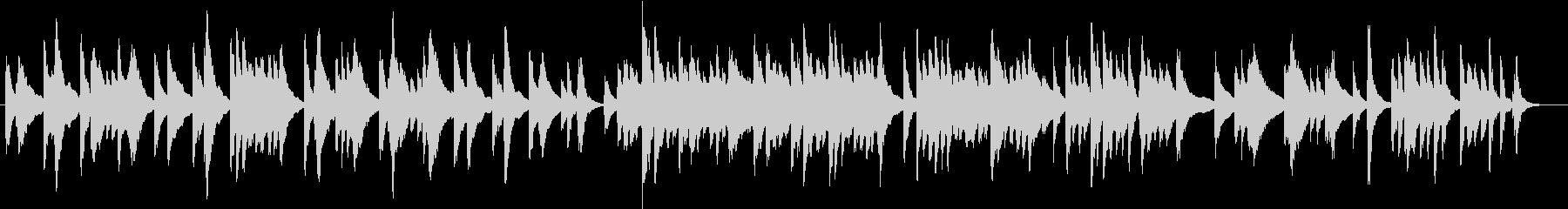 アメージンググレースのゆったりハープ演奏の未再生の波形