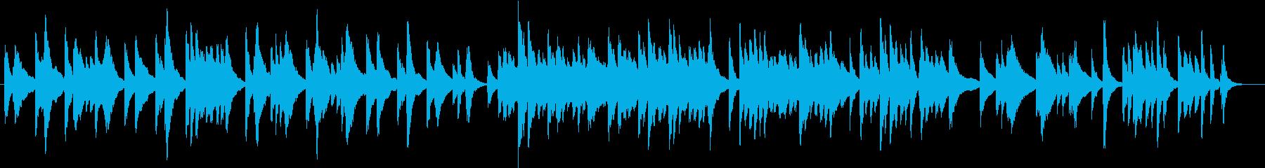 アメージンググレースのゆったりハープ演奏の再生済みの波形