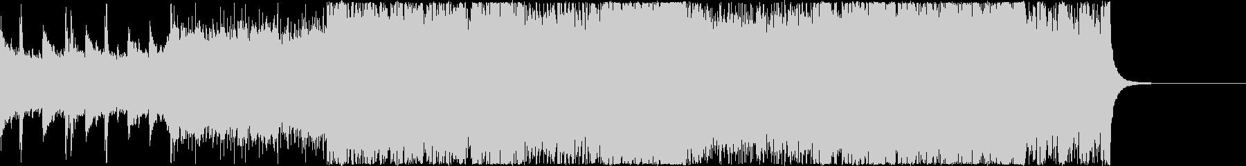 オープニング 序曲 ピアノ 疾走感の未再生の波形