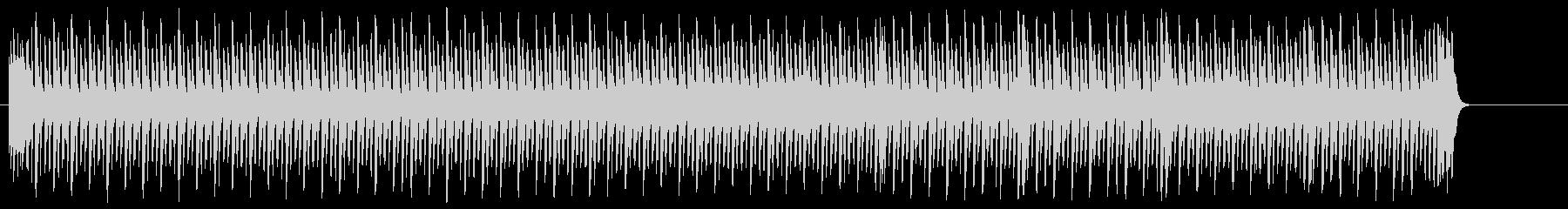 機械的なテクノ風ポップの未再生の波形