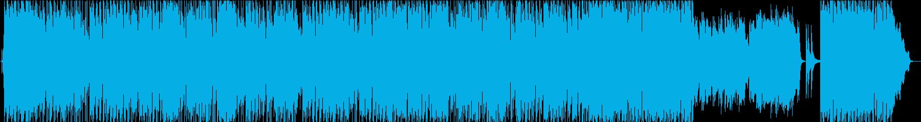 爽やかなボサノバ調ポップスの楽曲ですの再生済みの波形