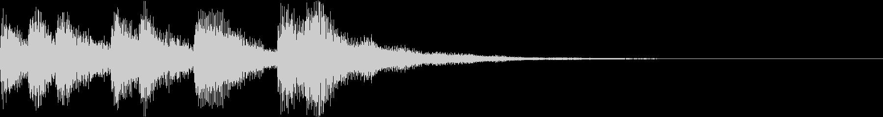 ショート ファンファーレ ベル ブラスBの未再生の波形