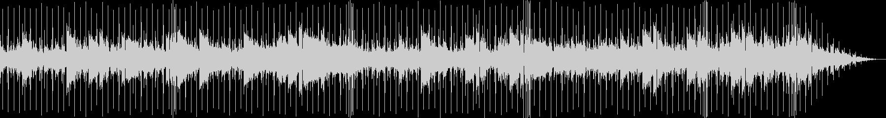 美しく透明で幻想的なチルアウトBGMの未再生の波形