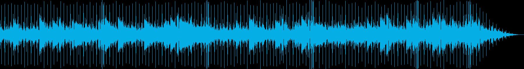 美しく透明で幻想的なチルアウトBGMの再生済みの波形