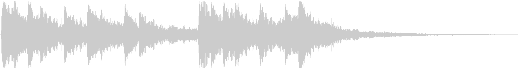 せつない感じの ピアノ&ストリングス③の未再生の波形