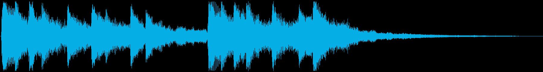 せつない感じの ピアノ&ストリングス③の再生済みの波形