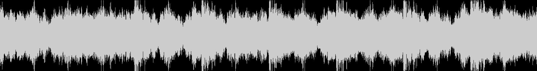 緊迫 緊急 オーケストラ ループの未再生の波形