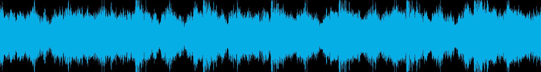 緊迫 緊急 オーケストラ ループの再生済みの波形
