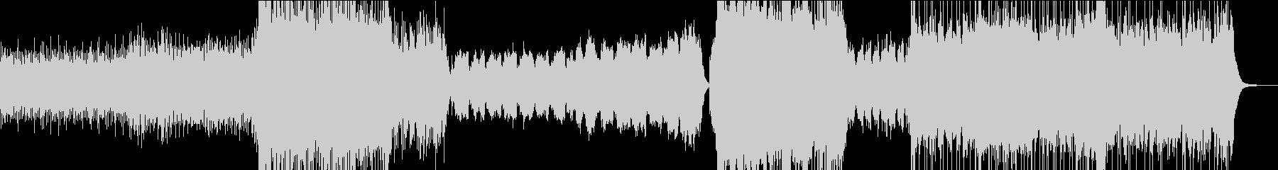 壮大な劇伴/メインテーマ/アニメ/ロボの未再生の波形