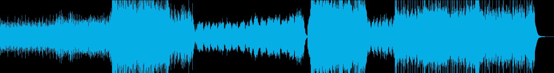 壮大な劇伴/メインテーマ/アニメ/ロボの再生済みの波形