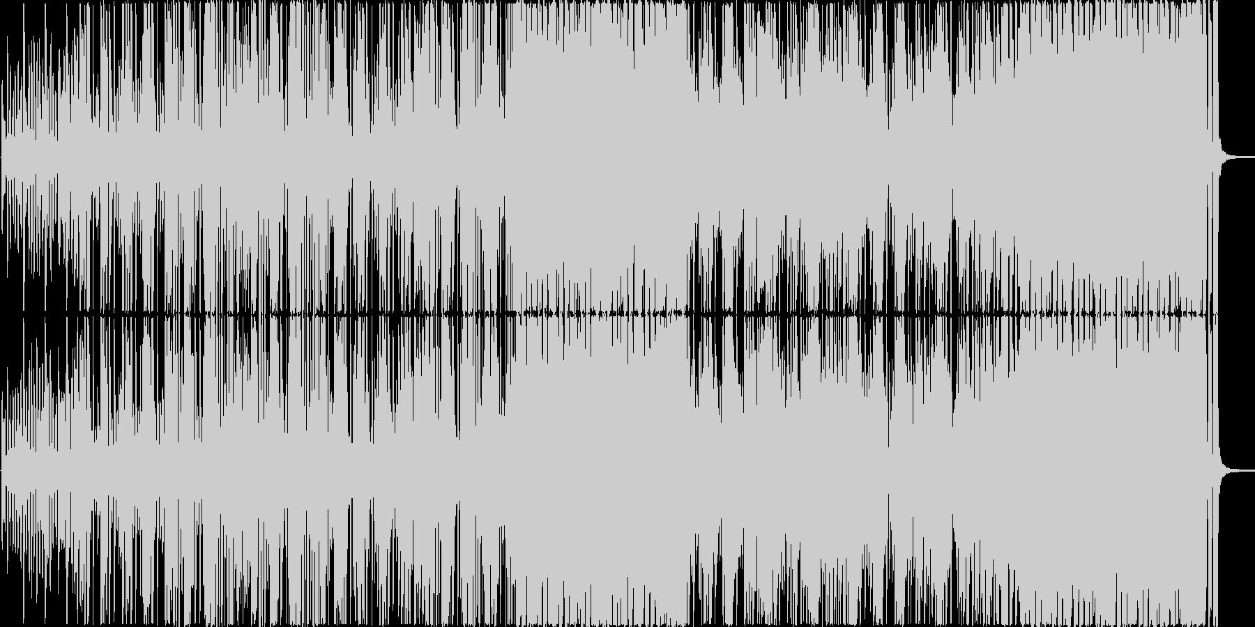 新鮮で幸福感あるジャズファンクの未再生の波形