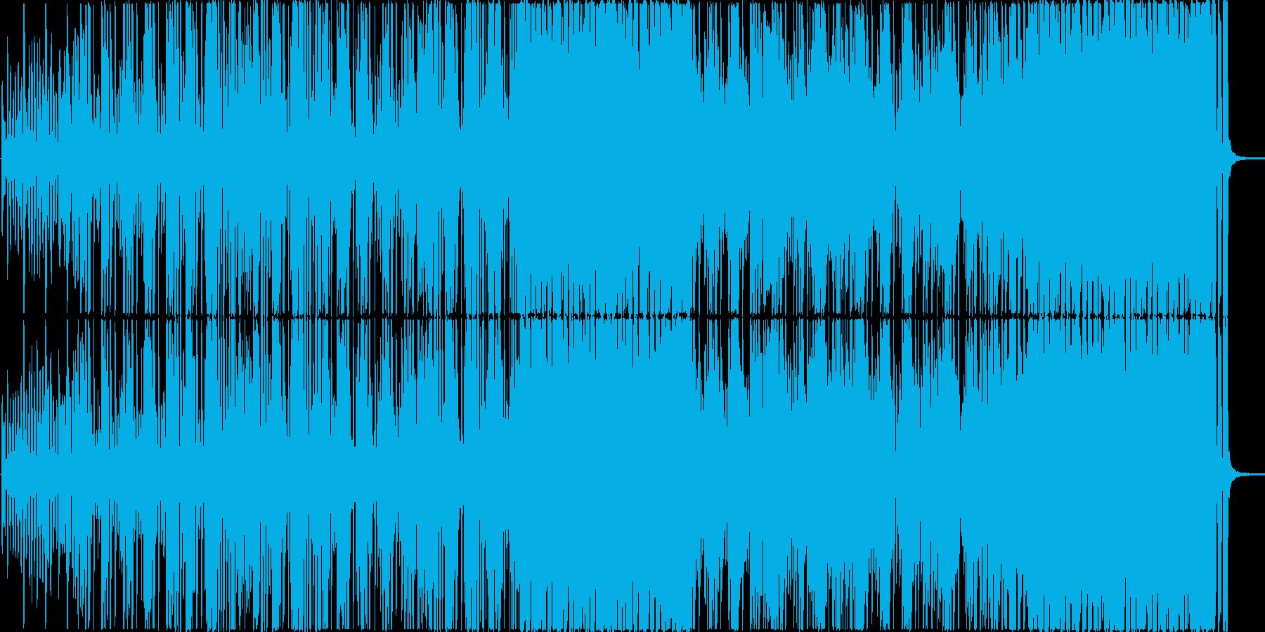 新鮮で幸福感あるジャズファンクの再生済みの波形