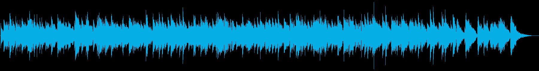 ゆったりリゾート感ギター弦楽器サウンドの再生済みの波形