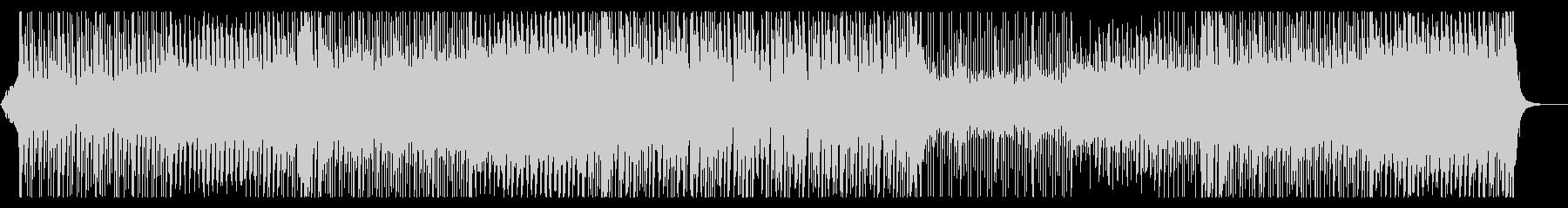 三味線がリードする4つ打ちダンス曲の未再生の波形