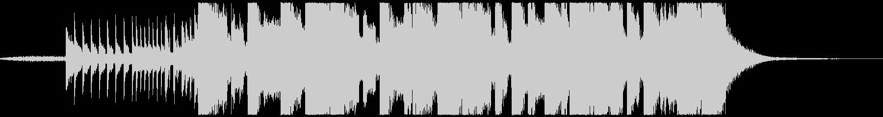 短尺のハードトラップの未再生の波形