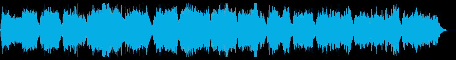 Urban legend ✡ Ikebo ★ Melancholy of the old man choir's reproduced waveform