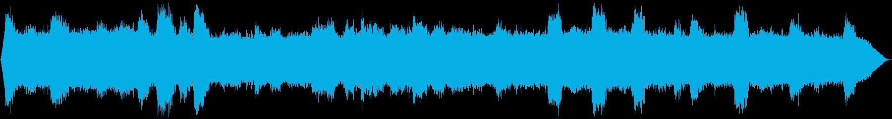 ヒグラシの鳴き声 夏のセミの再生済みの波形