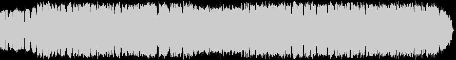 ケーナの自然の音色のヒーリング音楽の未再生の波形