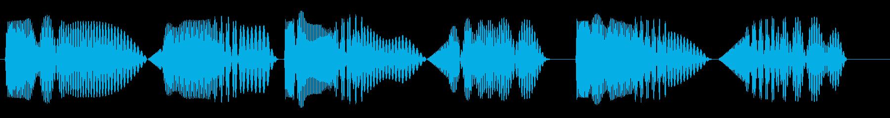 トゥクトゥクトゥク(アイキャッチなど)の再生済みの波形