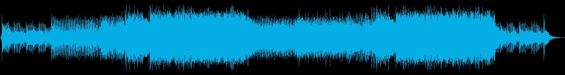 EDM 爽やか・疾走感の再生済みの波形