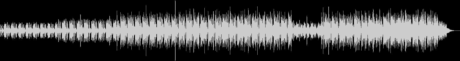 弾けるような音が印象的な電子音ポップの未再生の波形