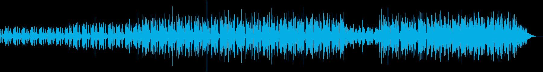 弾けるような音が印象的な電子音ポップの再生済みの波形