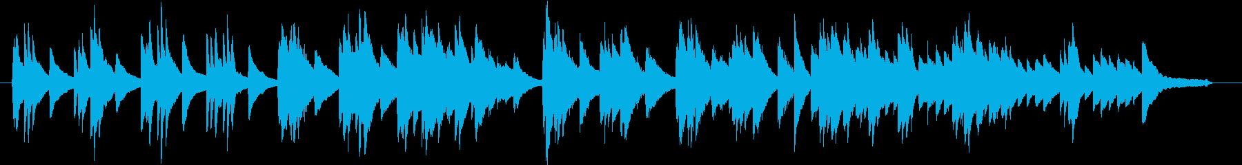 結婚式BGM_プレゼント01の再生済みの波形