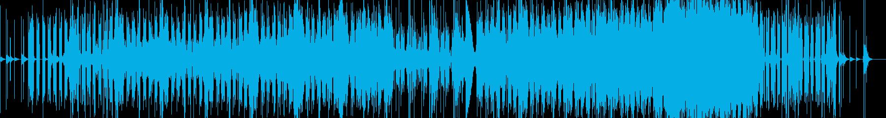 映像作品向けBGM。水のイメージ。の再生済みの波形
